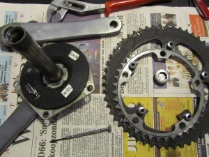 SRM Dura Ace Battery replacement step 1
