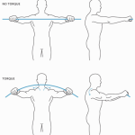 Generating torque in the shoulder